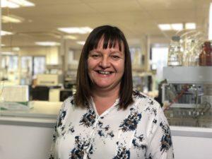 Kathy Ridgway, Senior Application Chemist